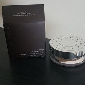 Becca Hydra Mist Set & Refresh powder